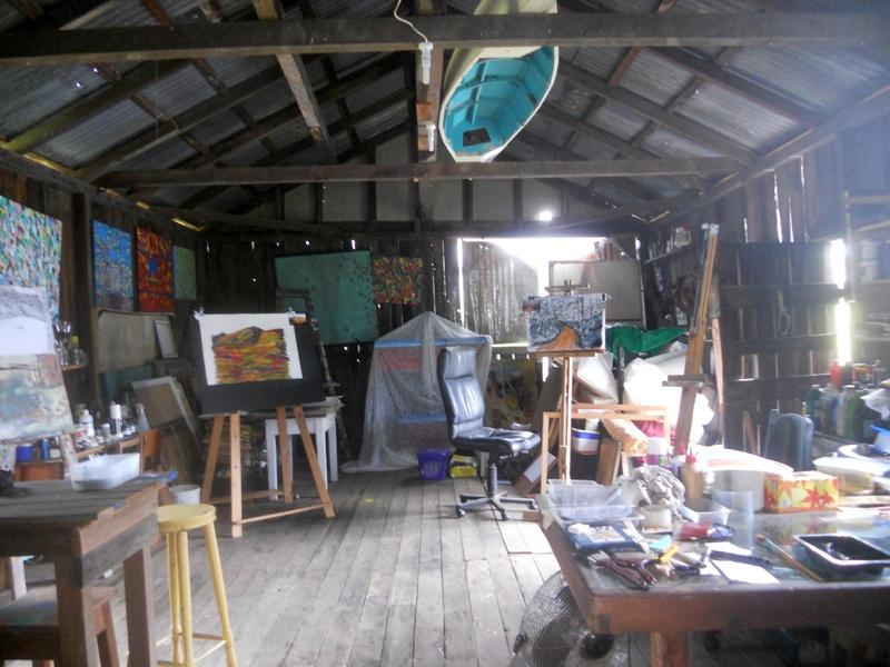 Coombadjha Studio interior